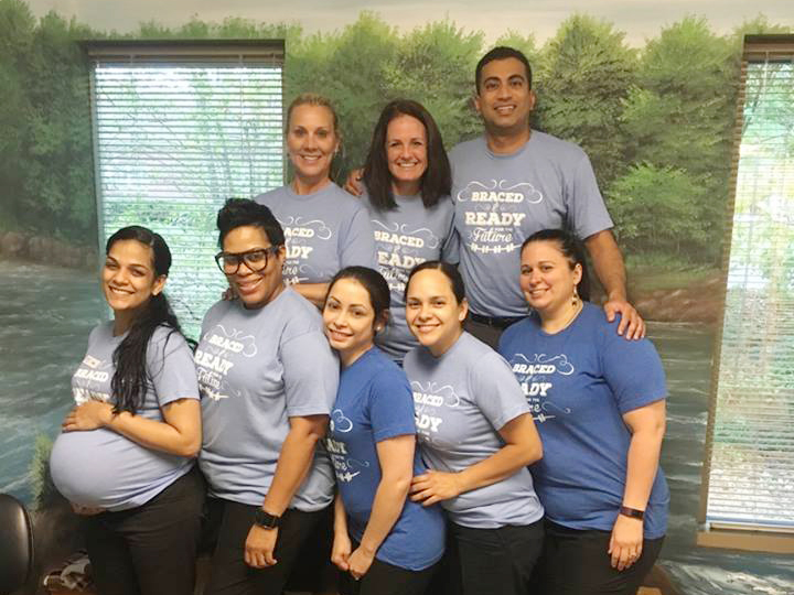 Johns Creek Family Orthodontics team are braced and ready